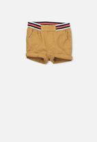 Cotton On - Jamie slouch shorts - tan
