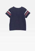 Cotton On - Freddie short sleeve tee - navy