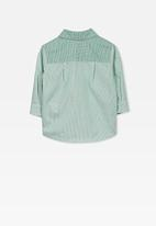 Cotton On - Zac long sleeve shirt - green