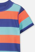Cotton On - Finley short sleeve rash vest - multi