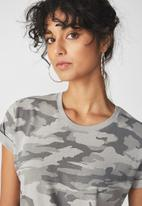 Cotton On - Tbar fox summer graphic t-shirt - grey