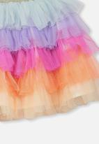 Cotton On - Trixiebelle tulle skirt - multi