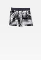 Cotton On - Nila knit short - black & white
