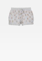 Cotton On - Nila knit short - grey