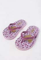 Cotton On - Printed flip flop - purple