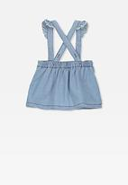Cotton On - Brittany pinafore dress - blue