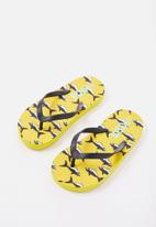 Cotton On - Printed flip flop - yellow