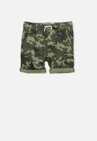 Cotton On - Jango walk short - khaki