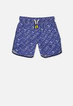Cotton On - Murphy swim shorts - blue