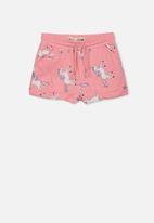 Cotton On - Nila knit shorts -  pink