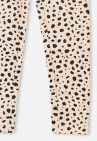 Cotton On - Huggie tights - pink & black