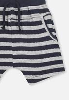 Cotton On - George short - grey & navy
