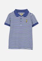 Cotton On - Kenny3 polo - blue & white