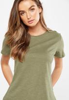 Cotton On - The summer crew T-shirt - green