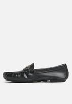 Superbalist - Mark horsebit driver loafer - black