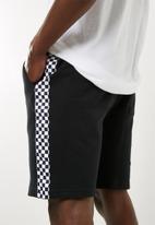 Superbalist - Sweat taped shorts - black