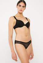 Cotton On - Marlow festive bikini - black