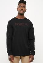 RVCA - Pinner long sleeve T-shirt - black