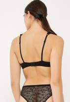 Cotton On - Joanne contour bra - black
