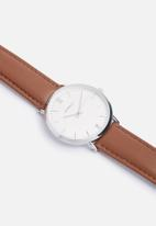 Superbalist - Jay leather watch - brown