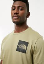 The North Face - Fine tee - green