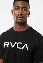 RVCA - Big RVCA T-shirt - black