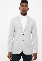 New Look - Basic pique blazer - grey