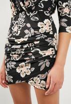 Superbalist - Printed wrap dress - multi