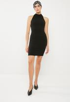 Superbalist - Poloneck dress - black