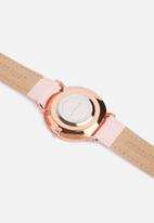 Superbalist - Lucy leather watch - pink