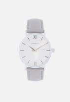 Superbalist - Lucy leather watch - grey