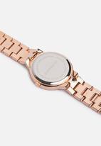Superbalist - Cass chain strap watch - rose gold