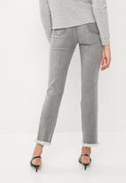 Superbalist - Grey studded jeans - grey
