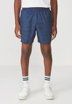 Cotton On - Coar training short - blue