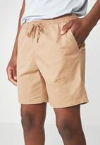 Cotton On - Easy short - beige