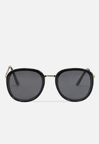 Cotton On - Kinsley round sunglasses - black
