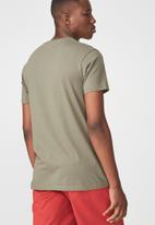 Cotton On - Tbar short sleeve tee - khaki