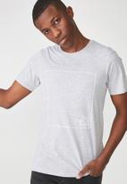 Cotton On - Tbar short sleeve tee - grey