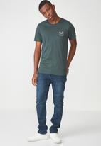Cotton On - Tbar shorts sleeve tee - green