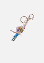 dailyfriday - Parrot key chain - multi