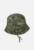 Cotton On - Bucket summer hat - green