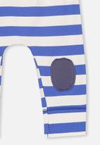 Cotton On - Mini legging - blue & white