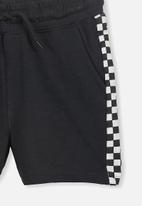 Cotton On - Henry slouch short - black& white