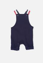 Cotton On - Timmy short leg all in one  - navy
