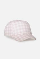 Cotton On - Baseball cap - pink & white