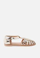 Cotton On - Liana sandal - gold