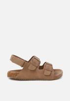 Cotton On - Theo sandal - tan