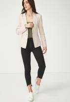 Cotton On - Simba summer blazer - cream