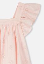 Cotton On - Pollyanna dress - peach