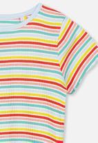 Cotton On - Short sleeve billie tee - multi